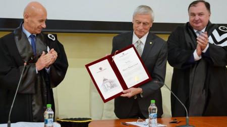 Academicianul Ion Pop e Doctor Honoris Causa al universității băimărene de stat (GALERIE FOTO)