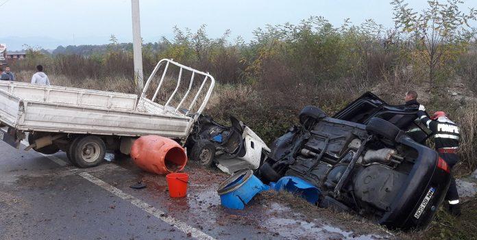 Bilanț îngrijorător pentru o singură zi: patru accidente rutiere, cu 11 răniți
