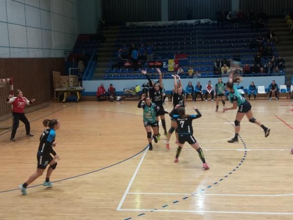 Victorie muncită a handbalistelor de la Minaur împotriva Slatinei