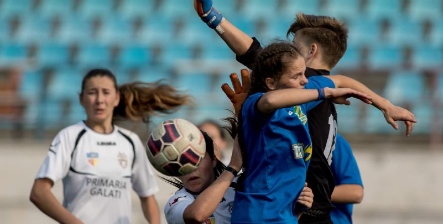 Am pierdut la limită un meci  de fotbal – feminin – în care s-au înscris 11 goluri