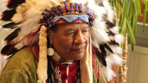 Elevii de la Racoviță, în dialog cu un nativ amerindian (VIDEO)