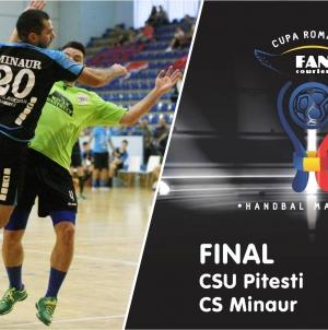 Antrenament cu public în meciul de Cupa României dintre CSU Pitești și Minaur