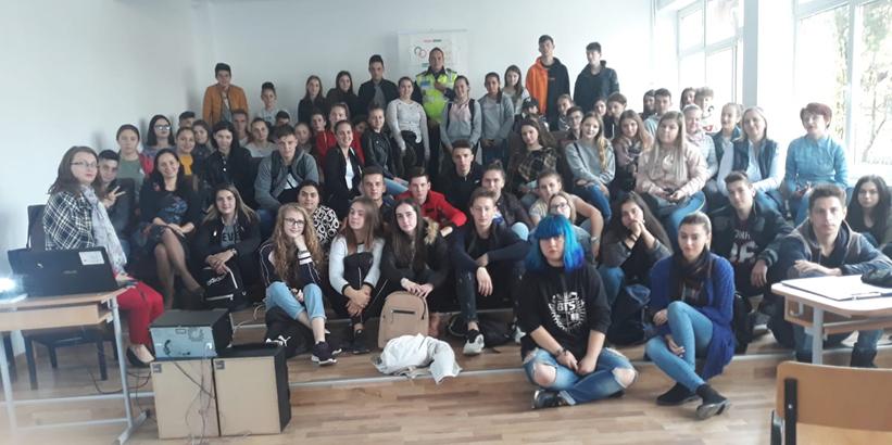 La Sighet, elevii de la Liceul Tehnologic s-au familiarizat cu tehnologia… circulației