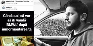 Iată ce distribuia borșeanul Ioan Mihalyi  cu 17 zile înainte de a muri în accidentul comis cu BMW-ul său