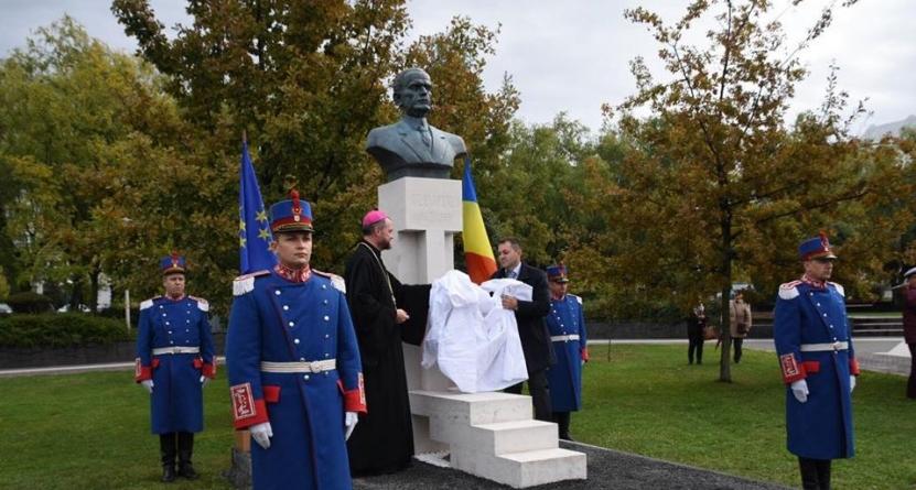 Monument în memoria lui Iuliu Maniu