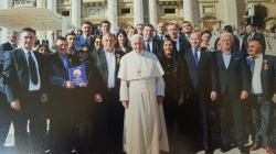 Maramureșeni la întâlnire cu Papa Francisc