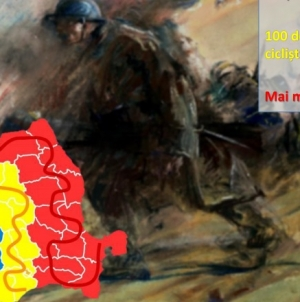 """Ștafeta Veteranilor """"Invictus"""" ajunge în Baia Mare"""