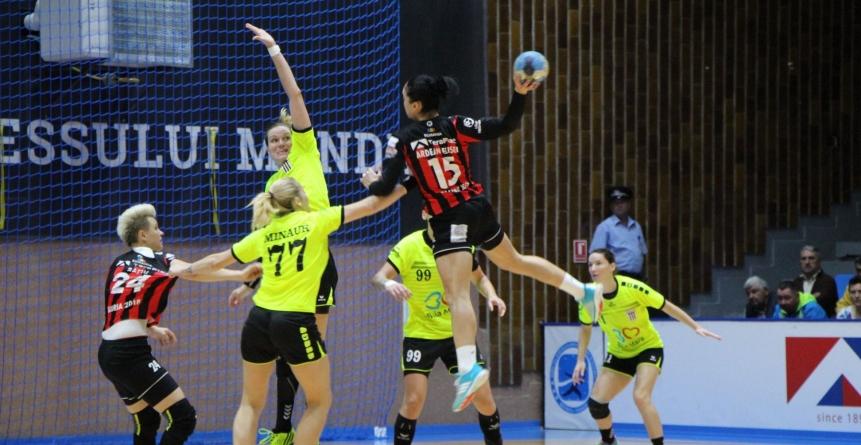 Handbalistele de la Minaur au pierdut un meci în care au condus o repriză și jumătate