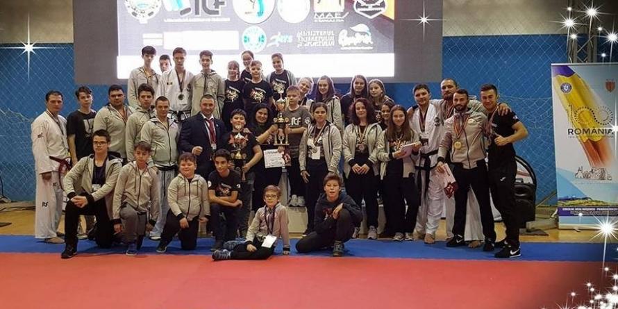 15 medalii de aur obținute de dragonii băimăreni la Cupa României la Taekwon-do