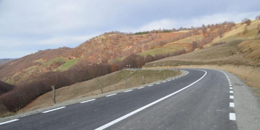 Azi, pe DJ 171, s-au unit 6 km maramureșeni cu 40 de km bistrițeni