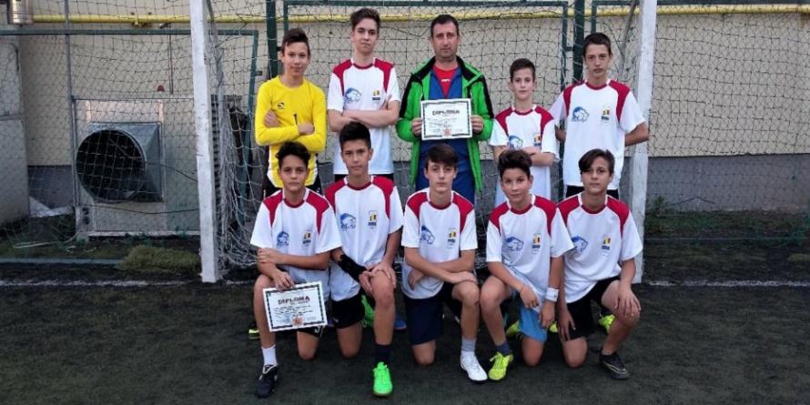 LPS Baia Mare a câștigat pentru a patra oară faza municipală a Olimpiadei Gimnaziilor la fotbal