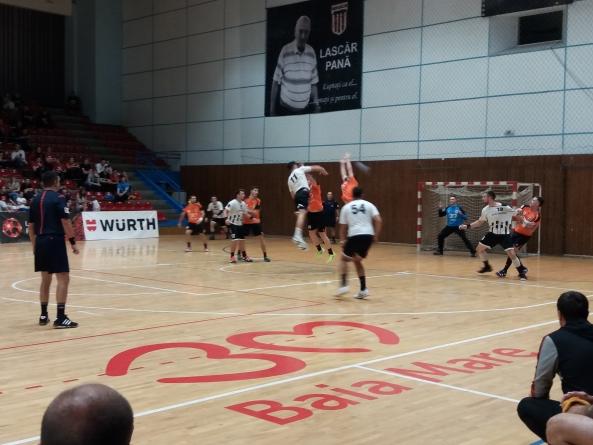 Spectacol handbalistic agreabil oferit de Minaur și U Cluj