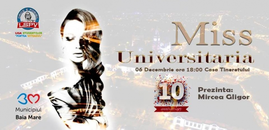 Zece pentru Miss Universitaria