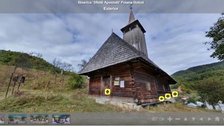Tururi virtuale în 30 de biserici din Țara Lăpușului