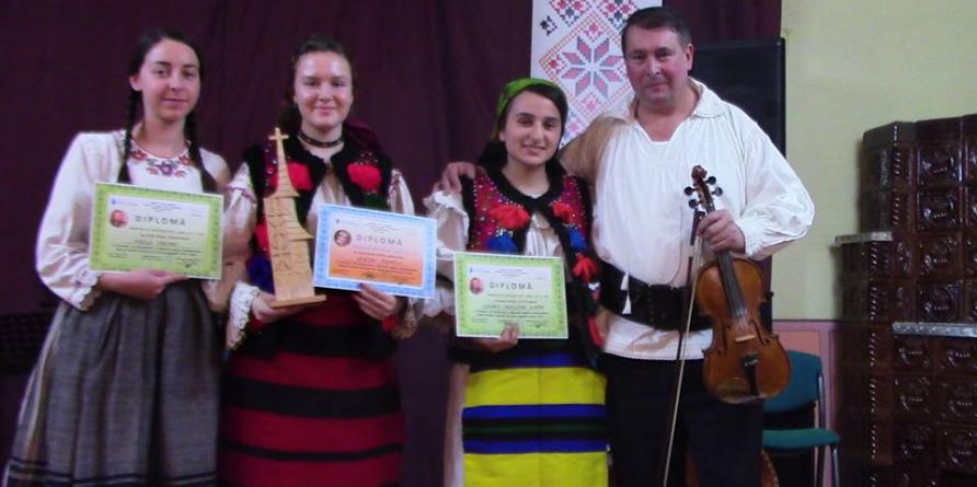 """Laureații concursului de interpretare a cântecului popular din Maramureș """"Viorel Costin"""""""