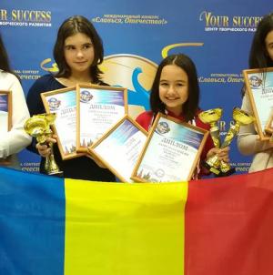 Tinerii artiști băimăreni au adus un snop de medalii de la Moscova (GALERIE FOTO)