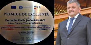 Premii de excelență pentru primarii din Copalnic Mănăștur, Ocna Șugatag și Recea