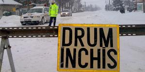 Drumurile județene închise în perioada de iarnă