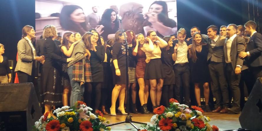Proiecte băimărene premiate la Gala Tineretului (GALERIE FOTO)
