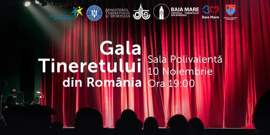 Gala Tineretului din România are loc în Baia Mare