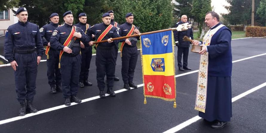 Nou drapel de luptă la Jandarmeria Maramureș