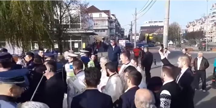 Pentru scandalul de la parohia din Sighet, episcopia îl acuză pe fostul ei slujitor (VIDEO)