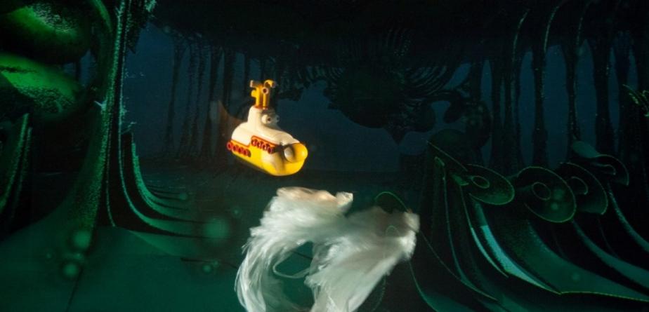 """""""Submarinul galben în lumea fractalilor"""""""