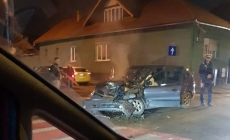 Accidente la vreme de seară