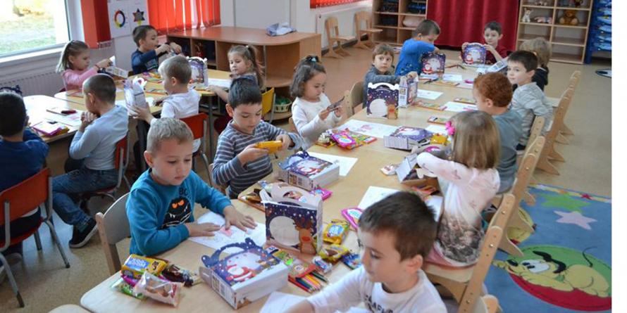 Moș Nicolae a trecut și pe la copiii din Fărcașa