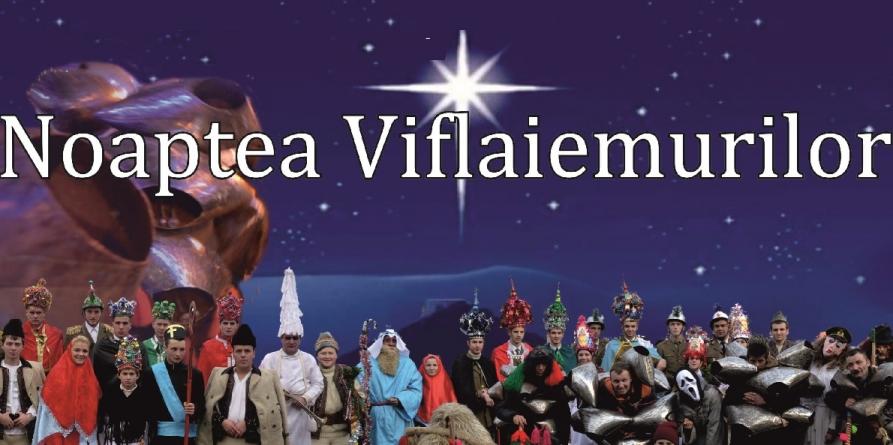 Noaptea Viflaiemurilor,  cea mai spectaculoasă noapte de ajun din țară