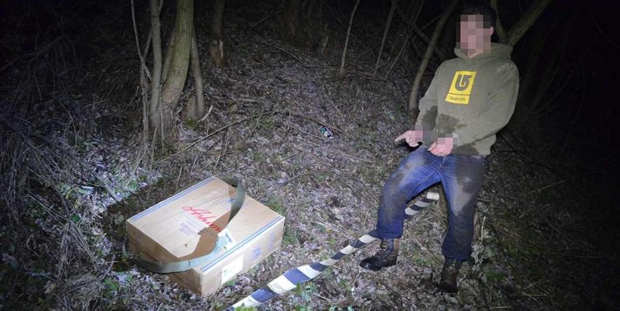Ucrainean prins cu țigări la Valea Vișeului