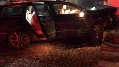 Patru răniți într-un accident la Hideaga