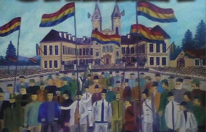 """""""Unirea"""" – expoziție de pictură la bibliotecă"""