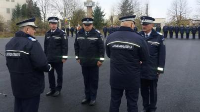 Jandarmi maramureșeni, recompensați  cu prilejul Zilei Naționale