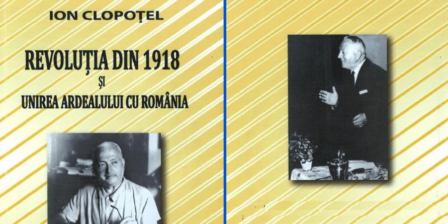"""""""Revoluţia din 1918 şi Unirea Ardealului cu România"""""""