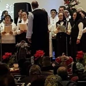 Concert de colinde la Gârdani