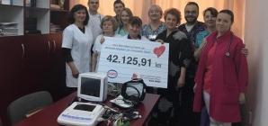 Donație de aparatură nouă pentru Secția Pediatrie a Spitalului Județean Baia Mare (GALERIE FOTO)