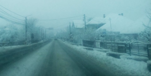 A venit zăpada: 40 cm la Firiza și Bicaz