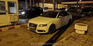 Mașină furată din Marea Britanie depistată în vamă