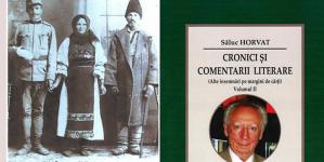 Istoricul literar Săluc Horvat lansează două noi volume