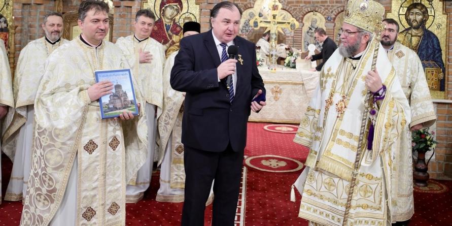 """Rectorul UTC Cluj-Napoca a primit """"Crucea Voievodală Maramureşeană"""" chiar de ziua numelui său (GALERIE FOTO)"""