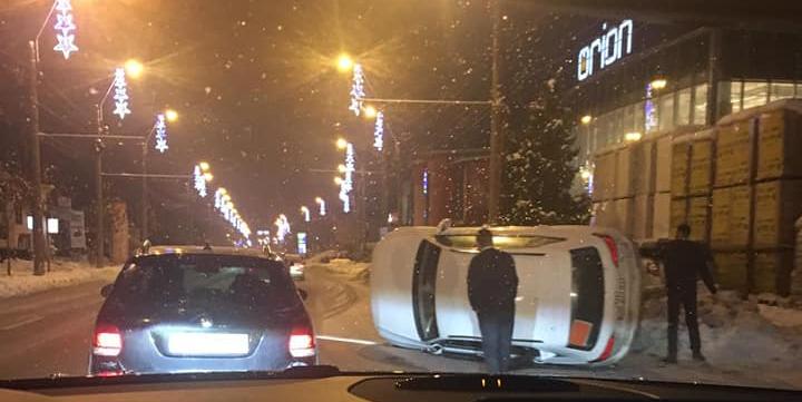 Accidente pe bandă rulantă la ceas de seară (GALERIE FOTO)