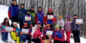"""Întâia competiție de schi din Maramureș în 2019: Cupa """"Primul Fulg"""""""