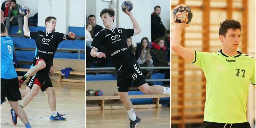 Academia de Handbal Minaur dă nouă tineri sportivi la loturile naționale