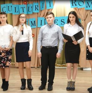 În Slatina (Ucraina), Mihai Eminescu a fost sărbătorit printr-un spectacol-concurs, dotat cu premii