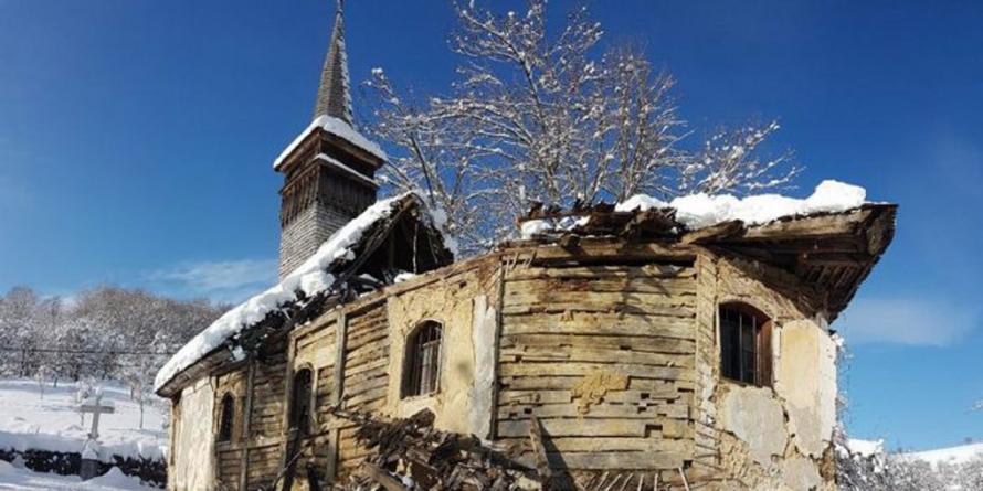 SOS biserica monument din Buteasa! Se pot face donații pentru salvarea ei