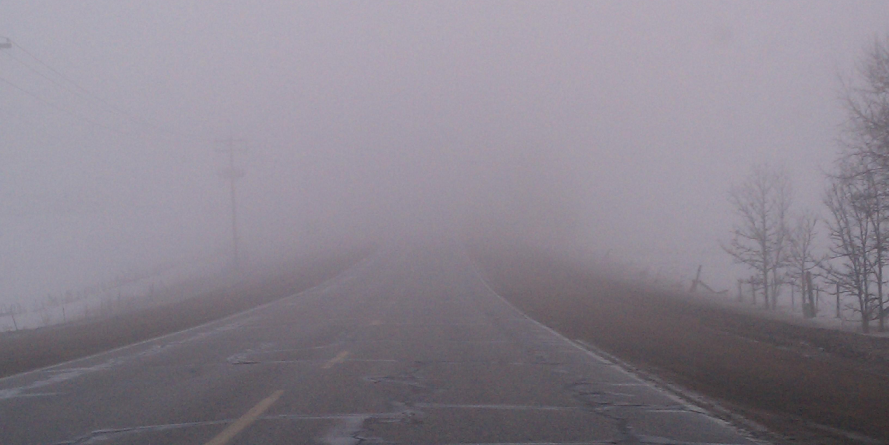 Cod galben de ceață și polei