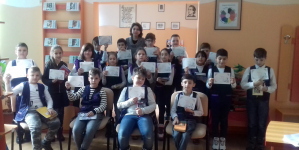 """Puzzle cu teiul eminescian la Școala """"Ion Luca Caragiale"""" Baia Mare"""