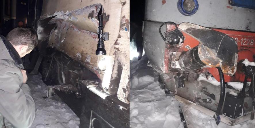 Tren  cu 11 persoane, deraiat după Valea Vișeului