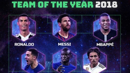 S-a desemnat echipa anului 2018